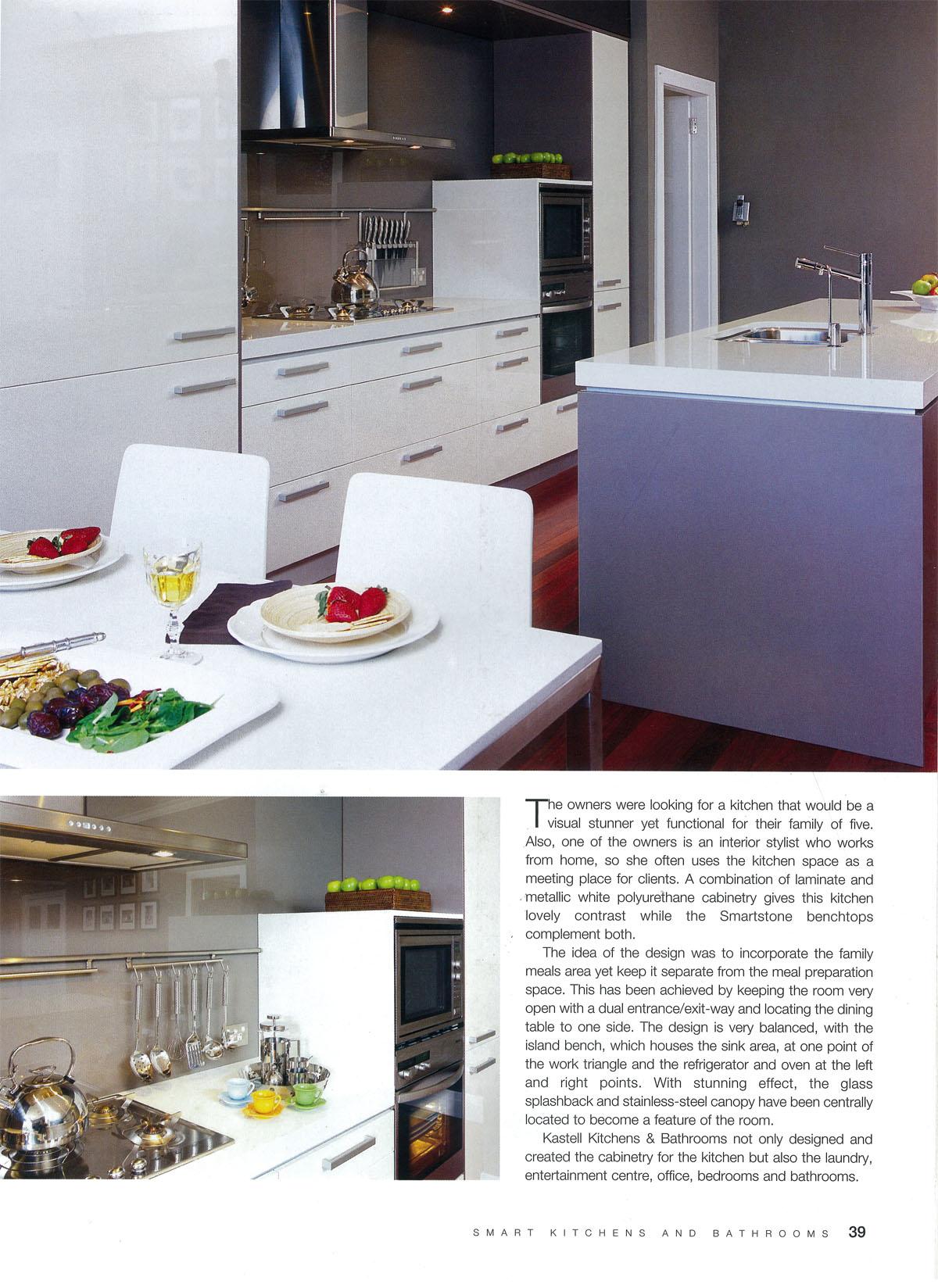 Lynne Bradley Interiors featured in Smart Kitchens & Bathrooms