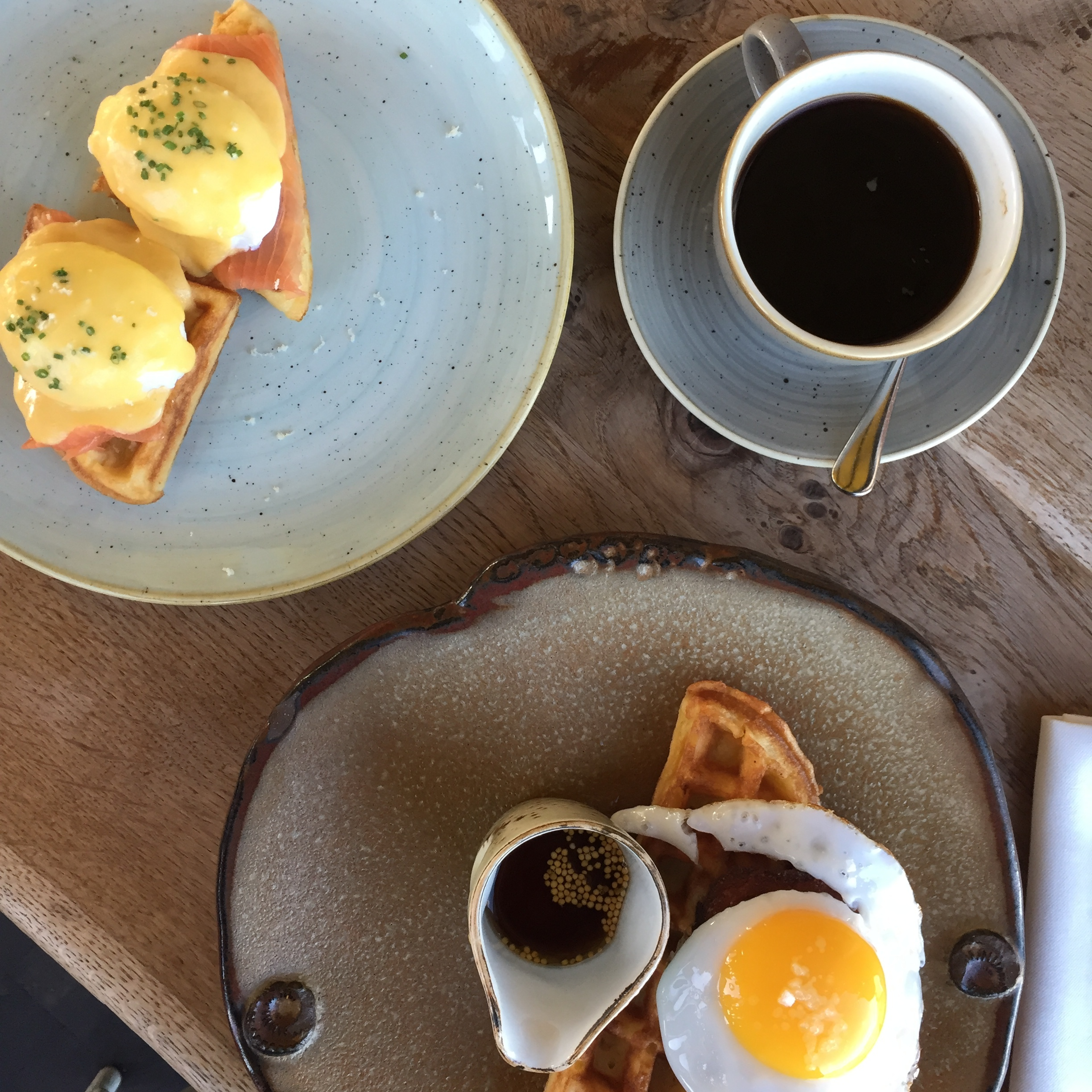Brunch @Duck and Waffle