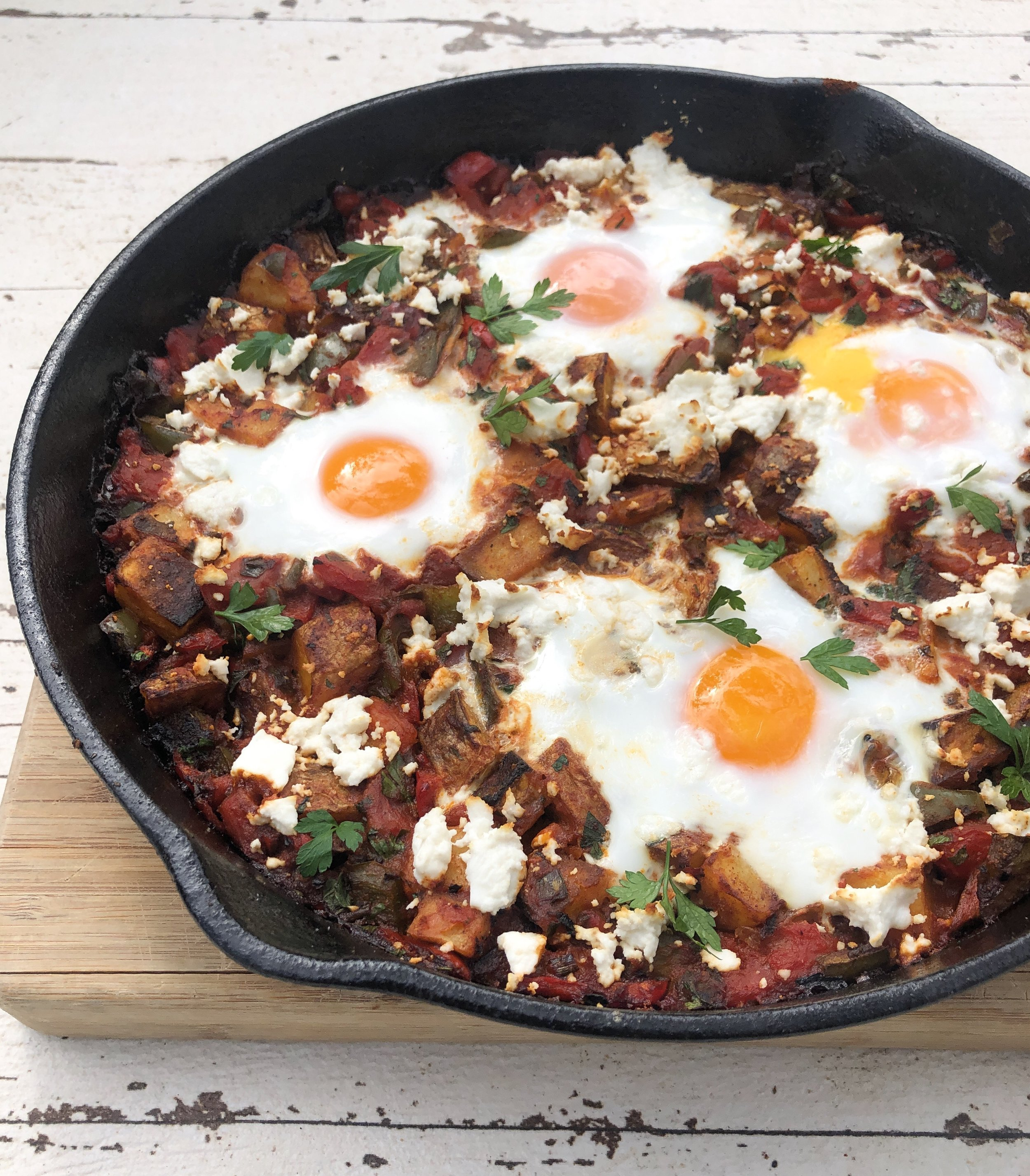 Potato Shakshuka 2