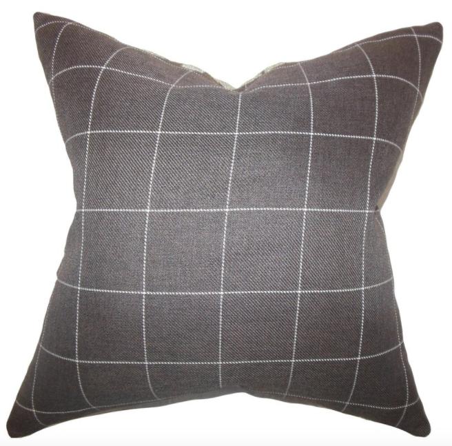 Ivo Plaid Pillow
