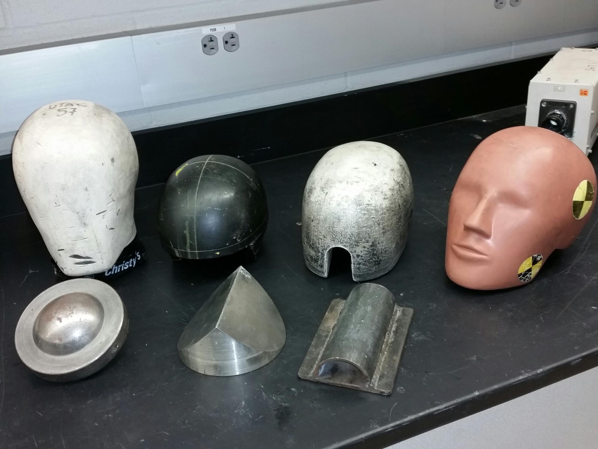 Headforms and Anvils