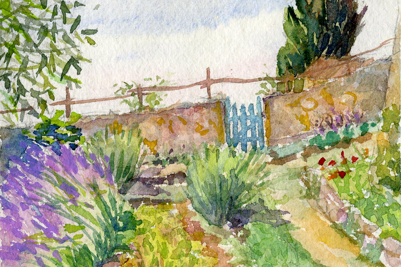 Spannocchia Garden