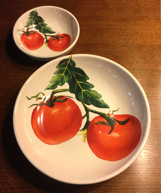 Tomato Bowls Available at Home Goods