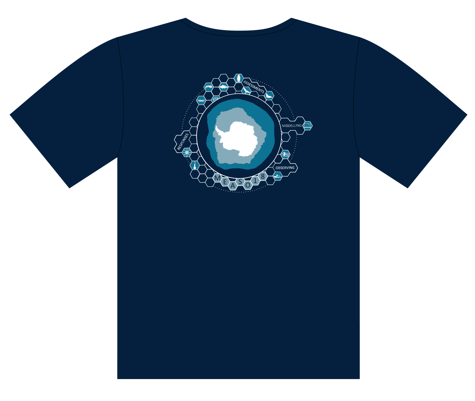 Please note that the pre-order for your MEASO 2018 t-shirt closed 22 March. You can still order a tshirt but you are not guaranteed your preferred size -