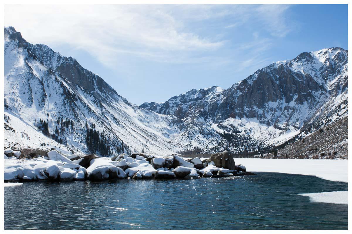 Convict Lake - Winter