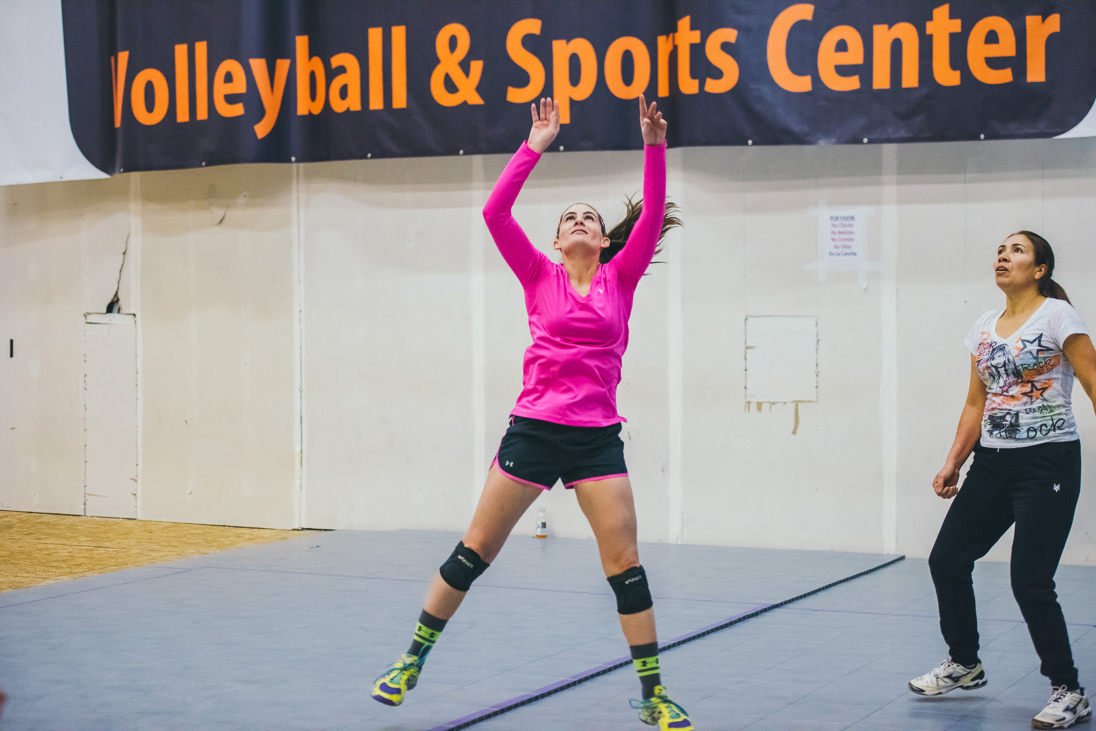 Sarah Jackson, founder of Casa de Paz and Volleyball Latino
