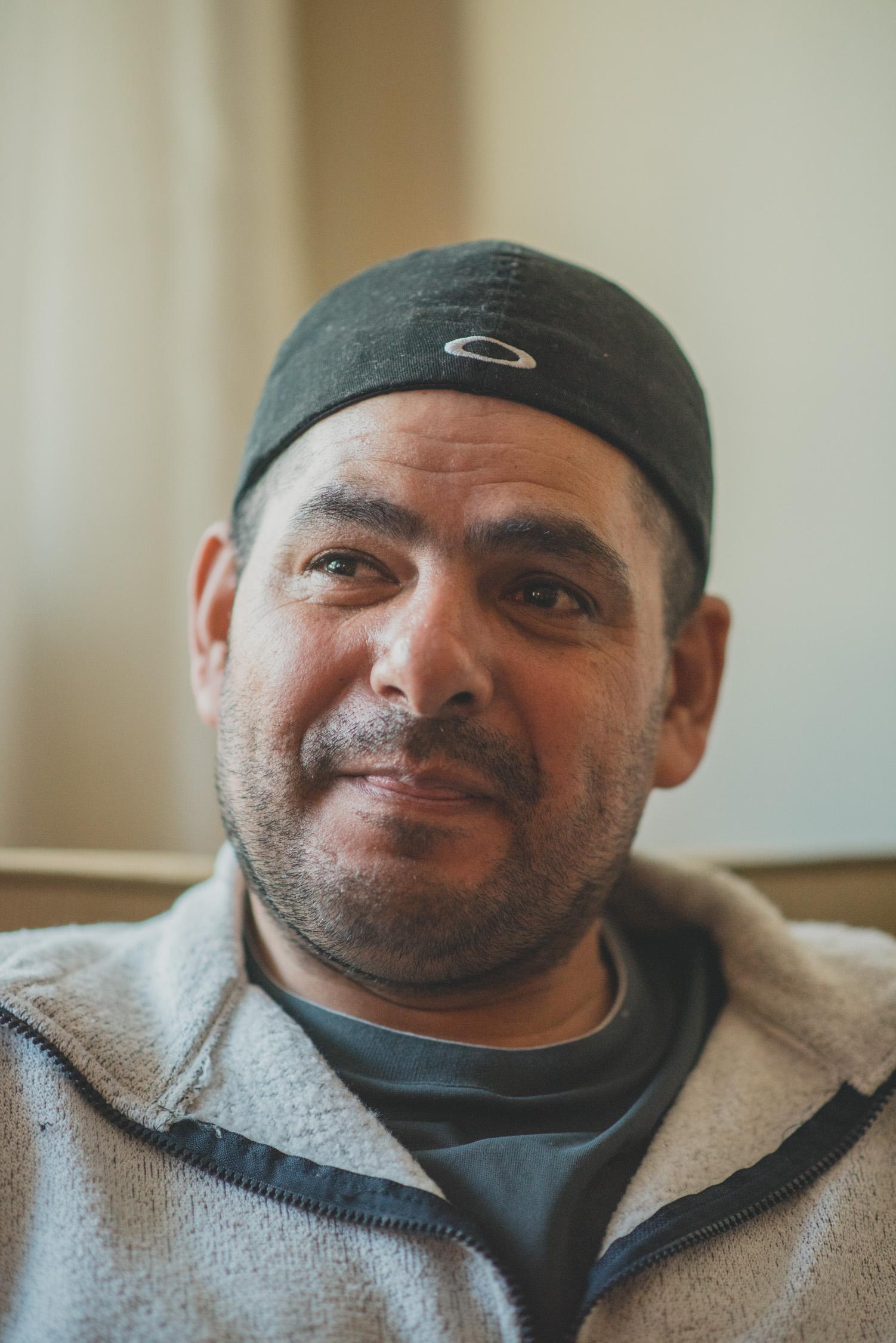 José, a volunteer and former guest at Casa de Paz.