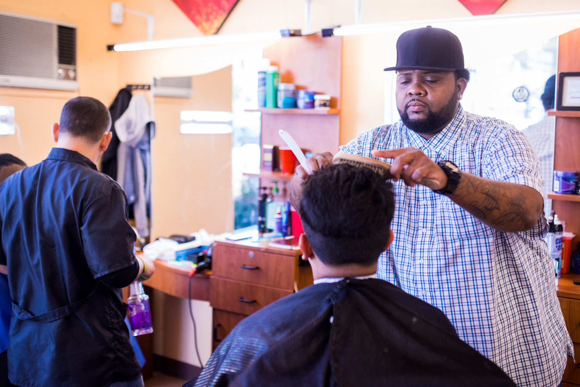 Mercy Corps NW - Community Investment Trust - hair salon