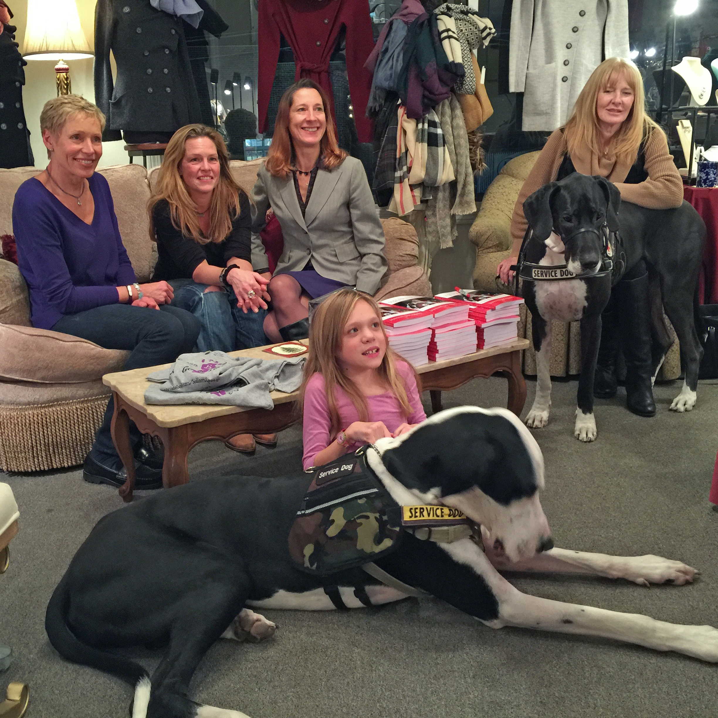Service Dog Project Fundraiser at Betsy's POP-UP - 2015 holiday season