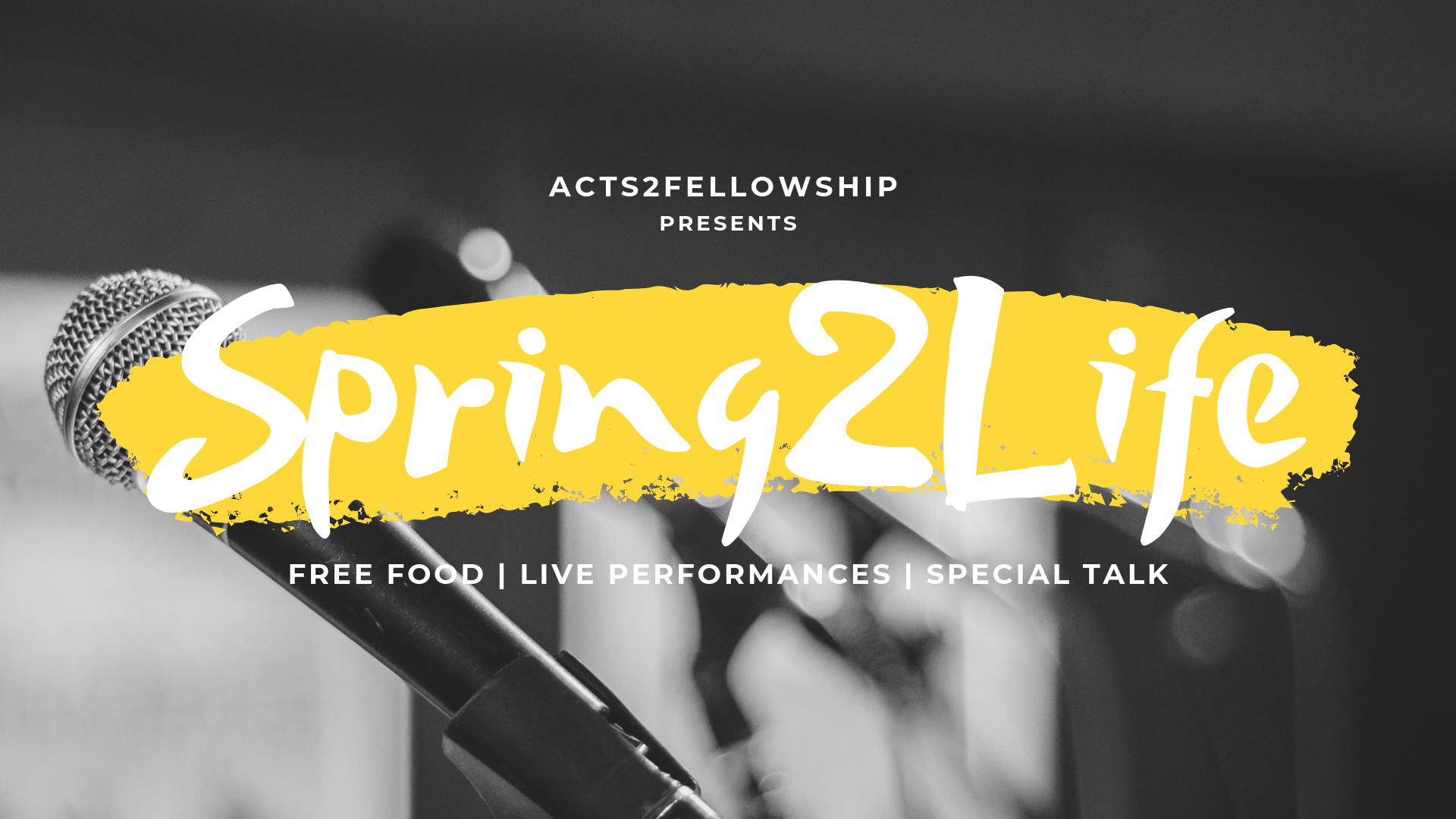 Join us for our special Spring2Life event! It will be a night full of food, fun and entertainment. We'll also be having a special talk that you won't want to miss. The event is on  Friday 5/10  starting at  6:30  @  Lenart Auditorium (Fowler Museum).