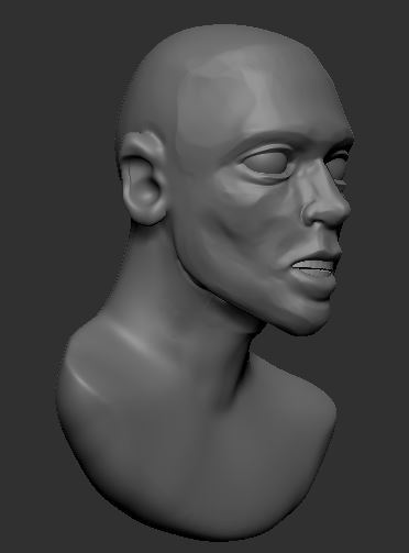 Started my next zbrush model for class. I think time on this has been 3 hours so far.