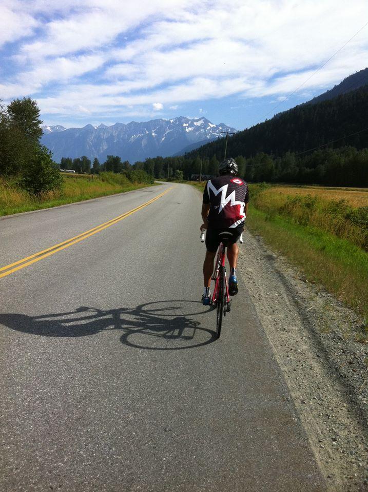 Road Riding Pemberton B.C.