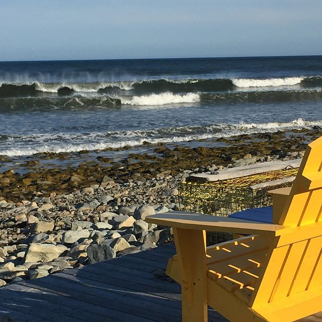 Seating with a view #surfnovascotia