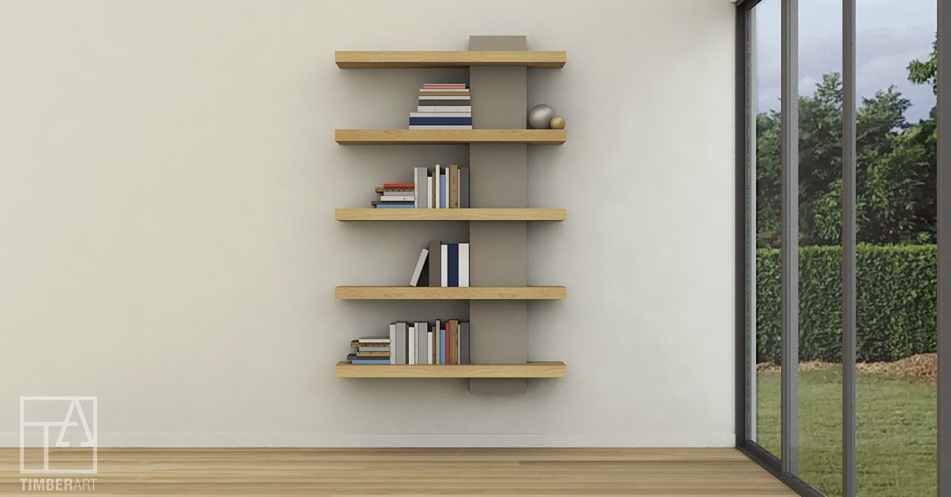 Copy of LUJO LIBRERO - Floating Luxury Bookcase