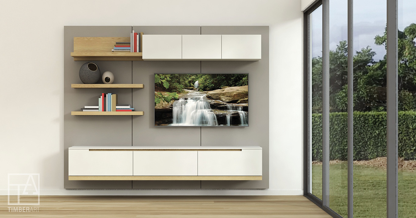 Copy of OPTIMO FINEZA - Floating Entertainment Unit