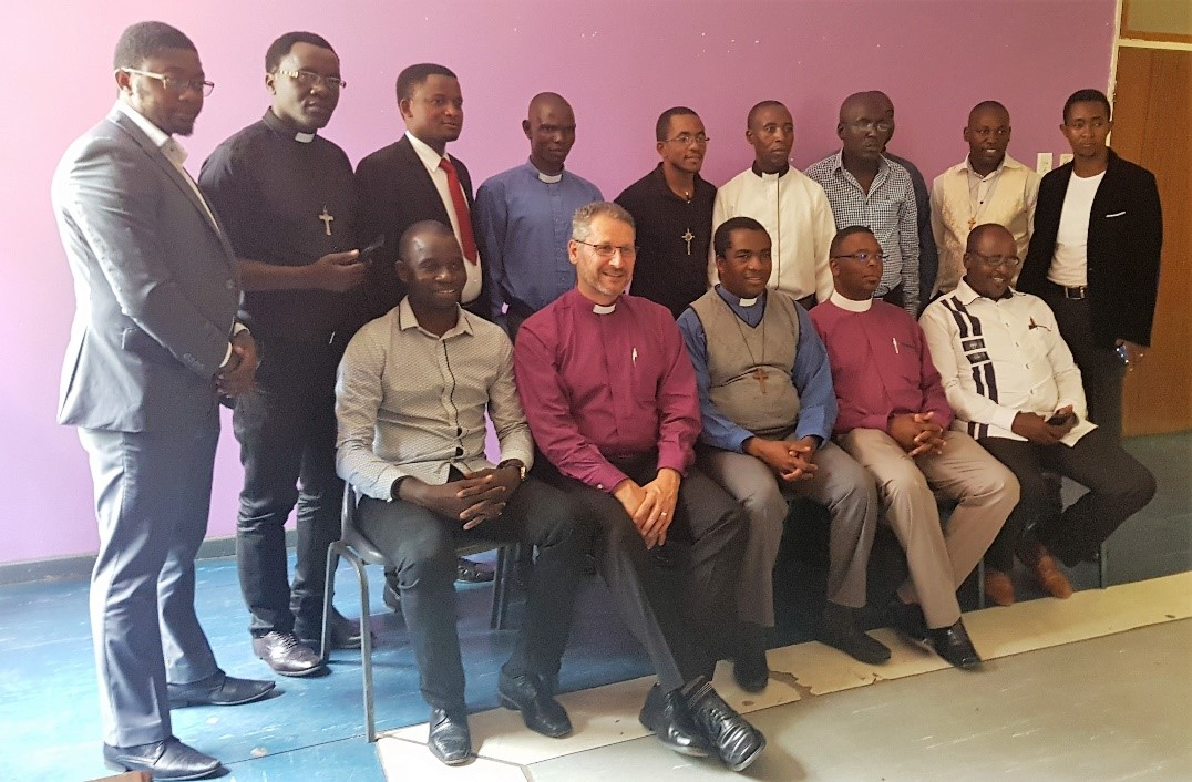 Members of the NEAC with Bishops Glenn Lyons and Njabulo Mazibuko