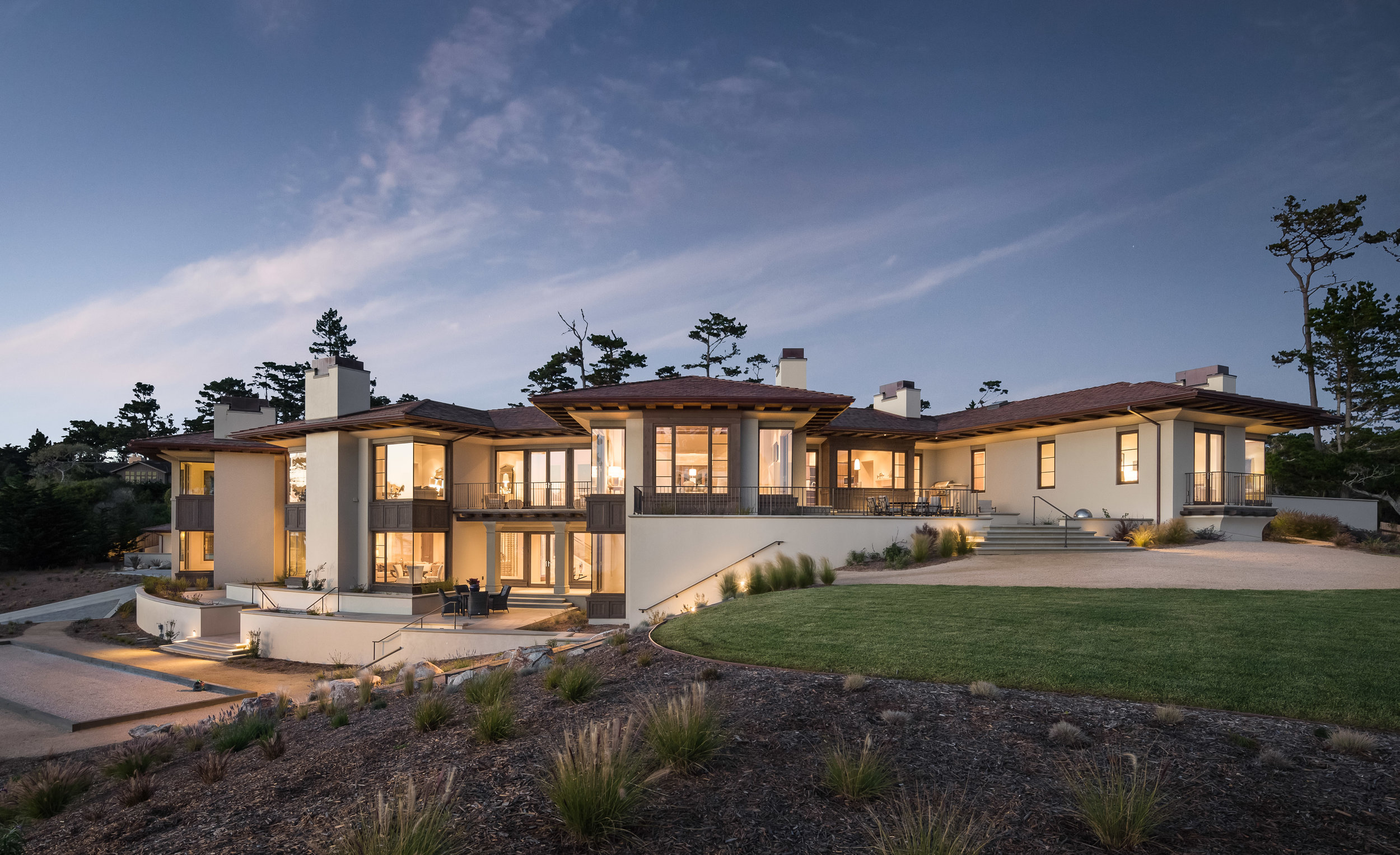 Pebble Beach Residence -  The Wall Street Journal