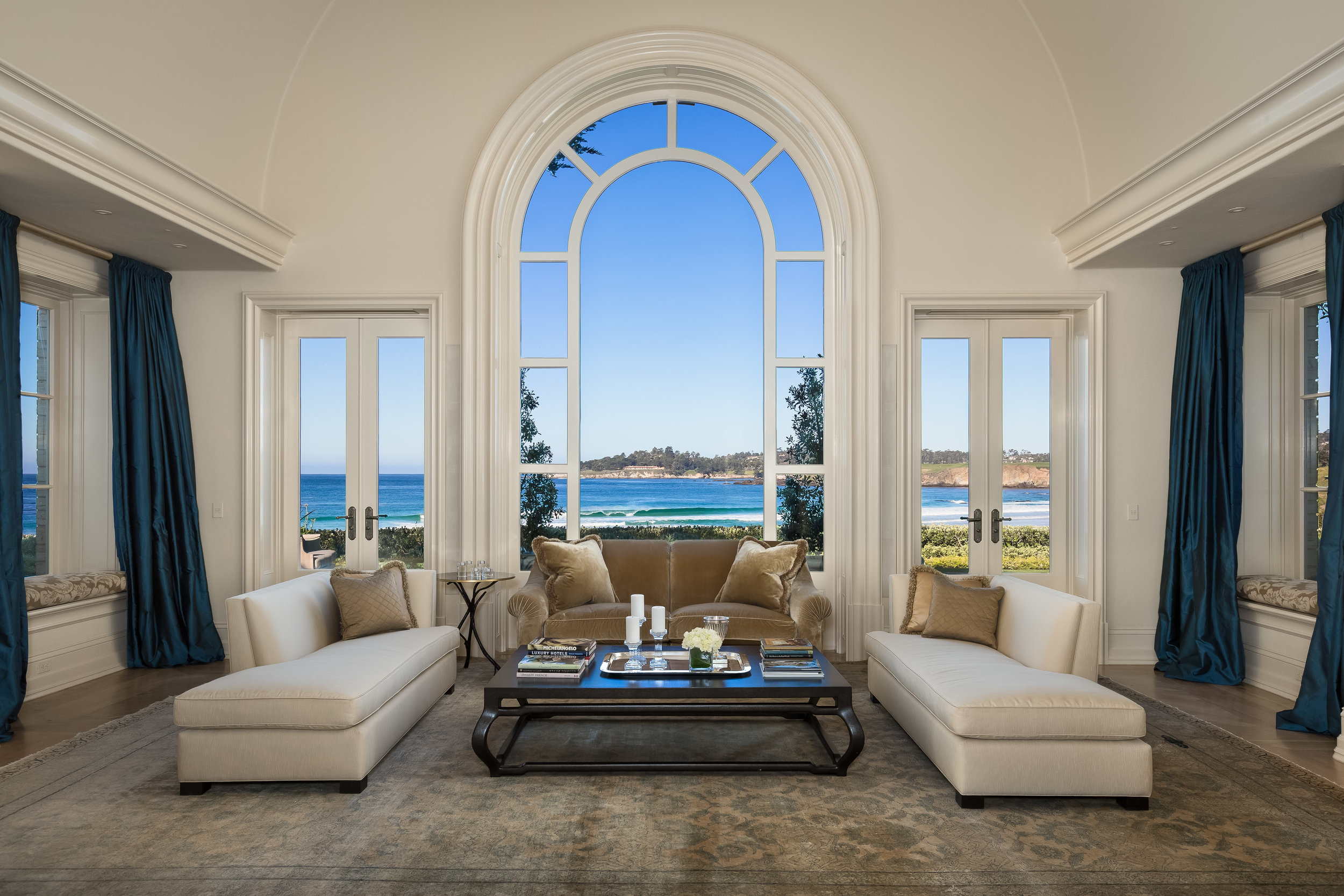 Carmel Residence -  Architectural Digest