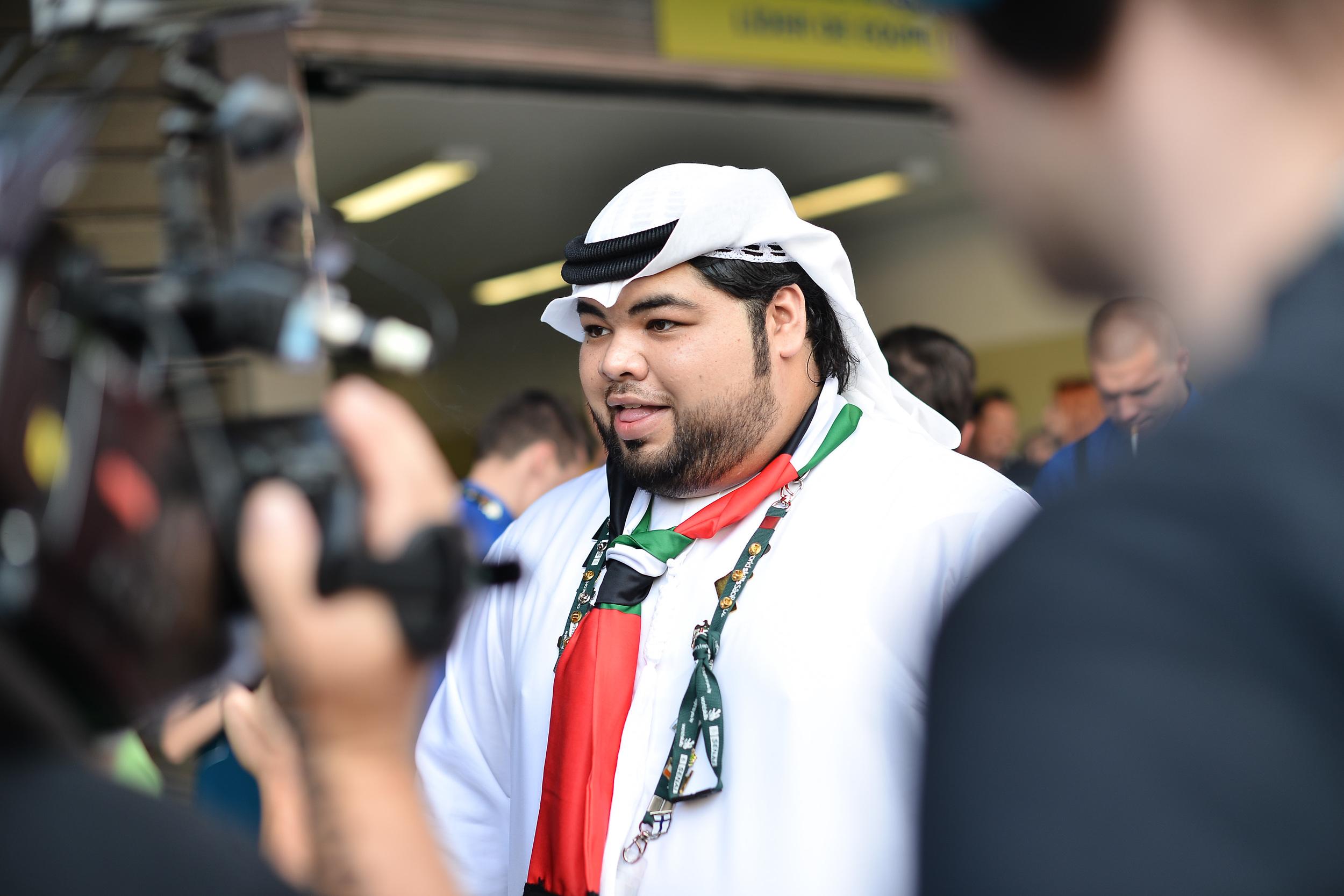 Mudhaffar Helal Al Shamsi from Team UAE (Photo Credit: WorldSkills International)