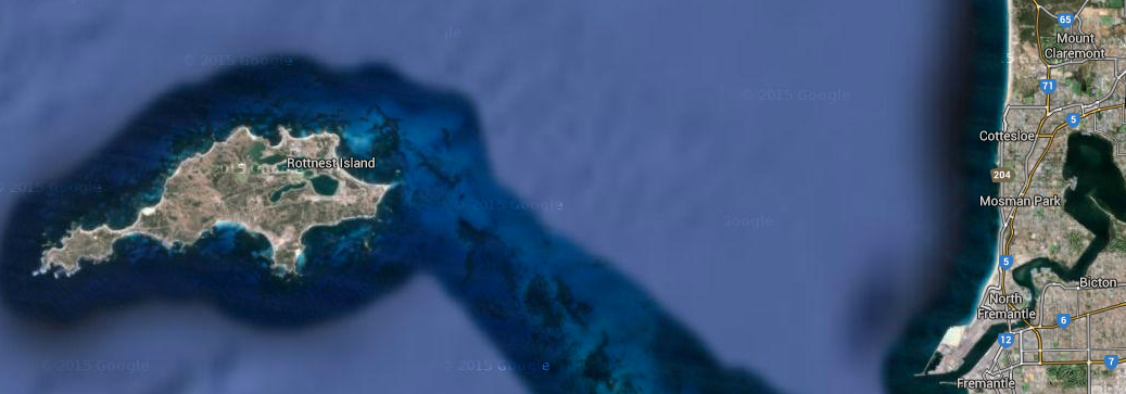 Rottnest Island (Photo: Google Maps)