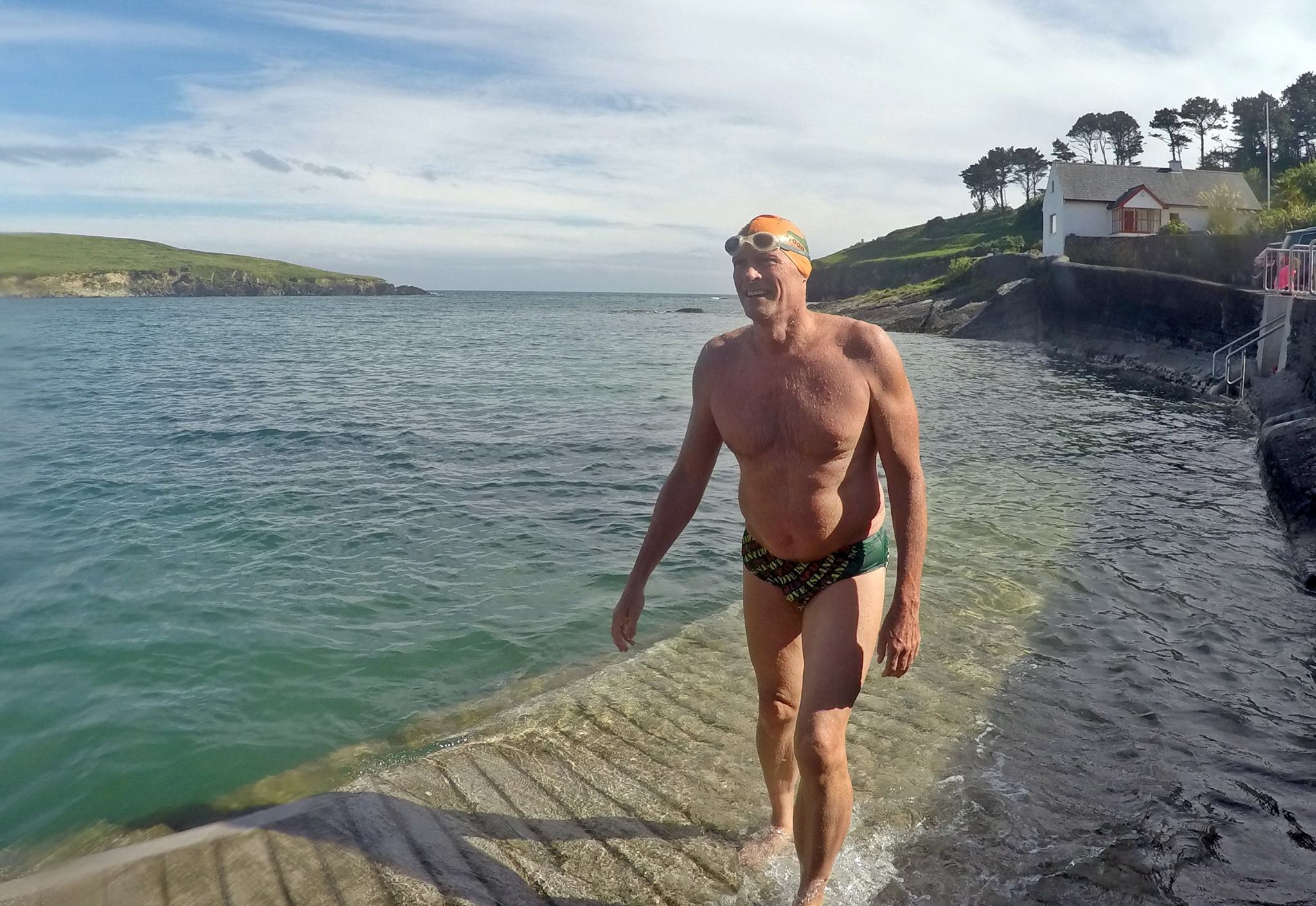 A giant of marathon swimming (Image: Gordon Adair)