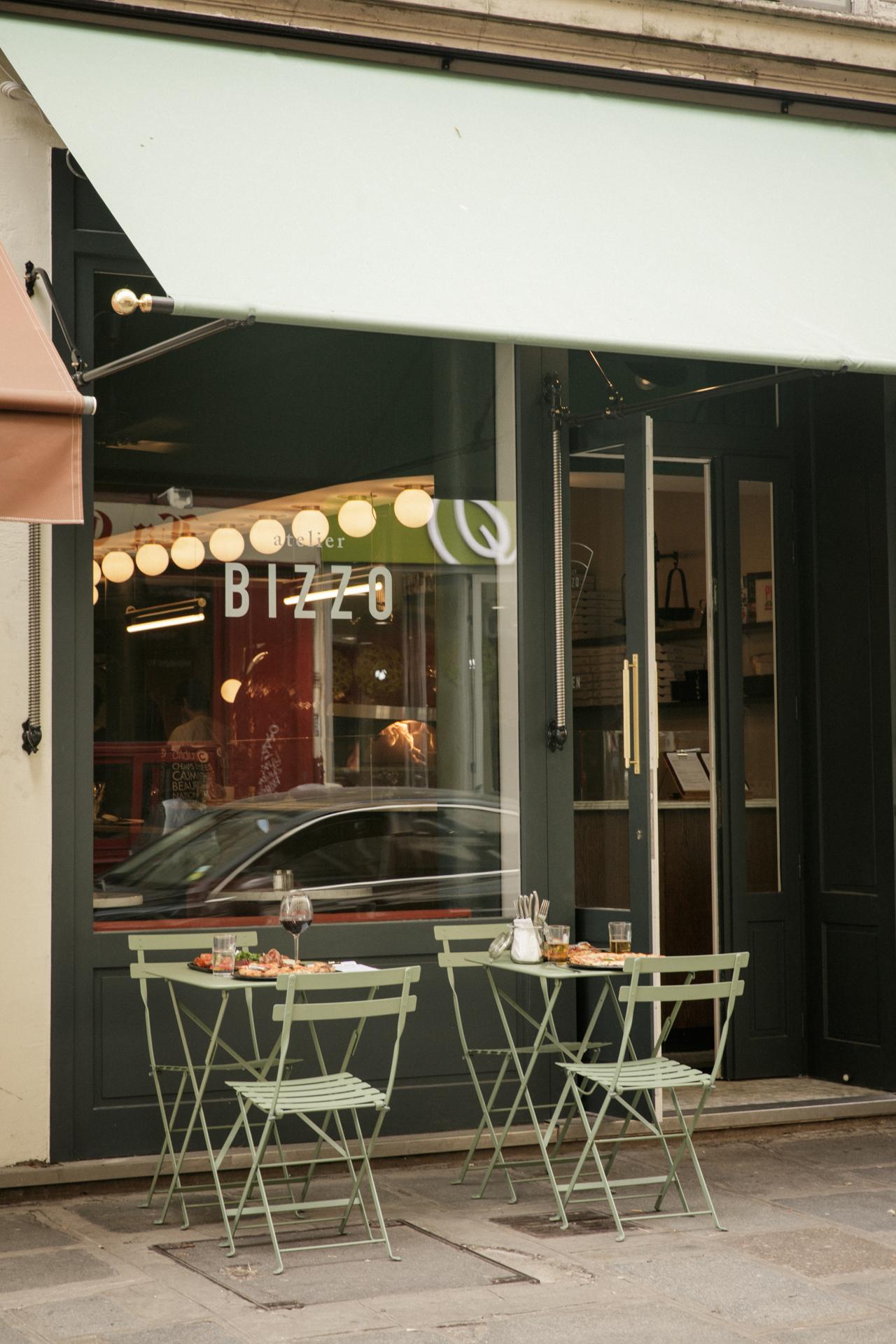 Pizza place, 53 rue du faubourg Poissonnière, Paris X - photos @laurastevens