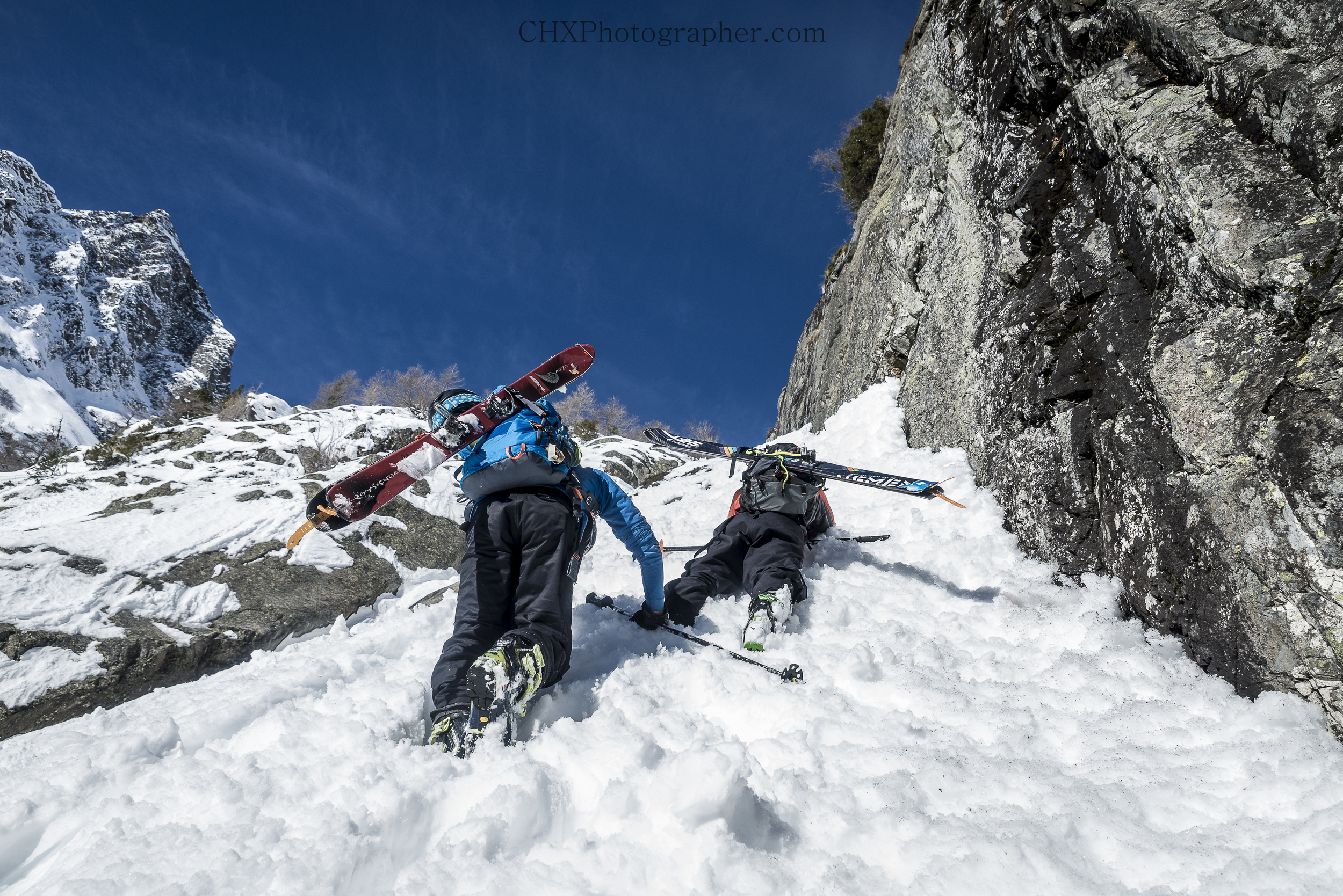 Exploring the Aiguille Rouge parc national in the Chamonix valley