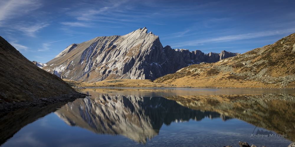 Lac Jovets, Haute Savoie, Chamonix Alps, France