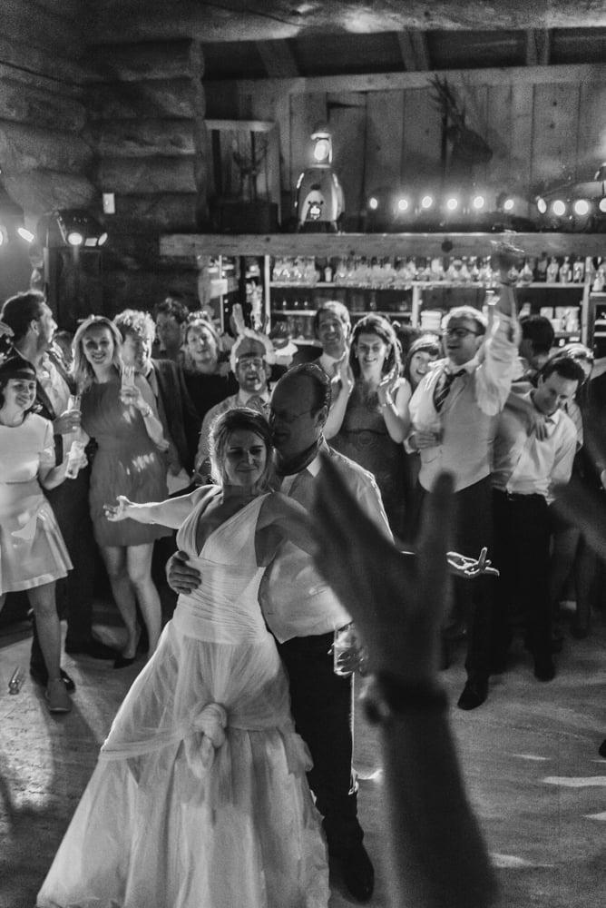 Party time @ Le Cabanne, Wedding Chamonix