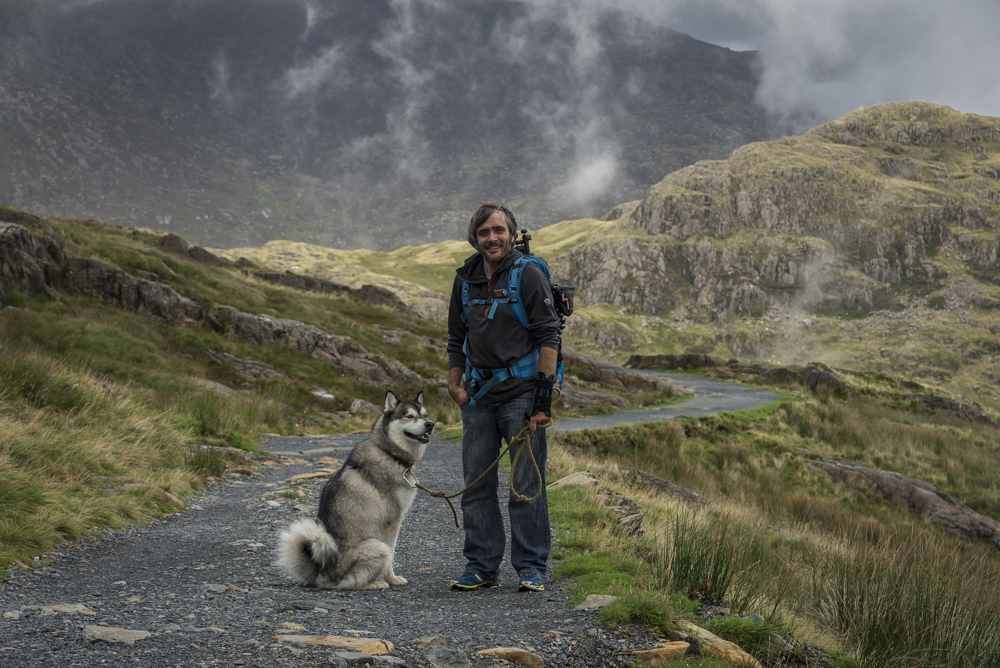 On the Miners path that leads up to Snowdon Sep2016.