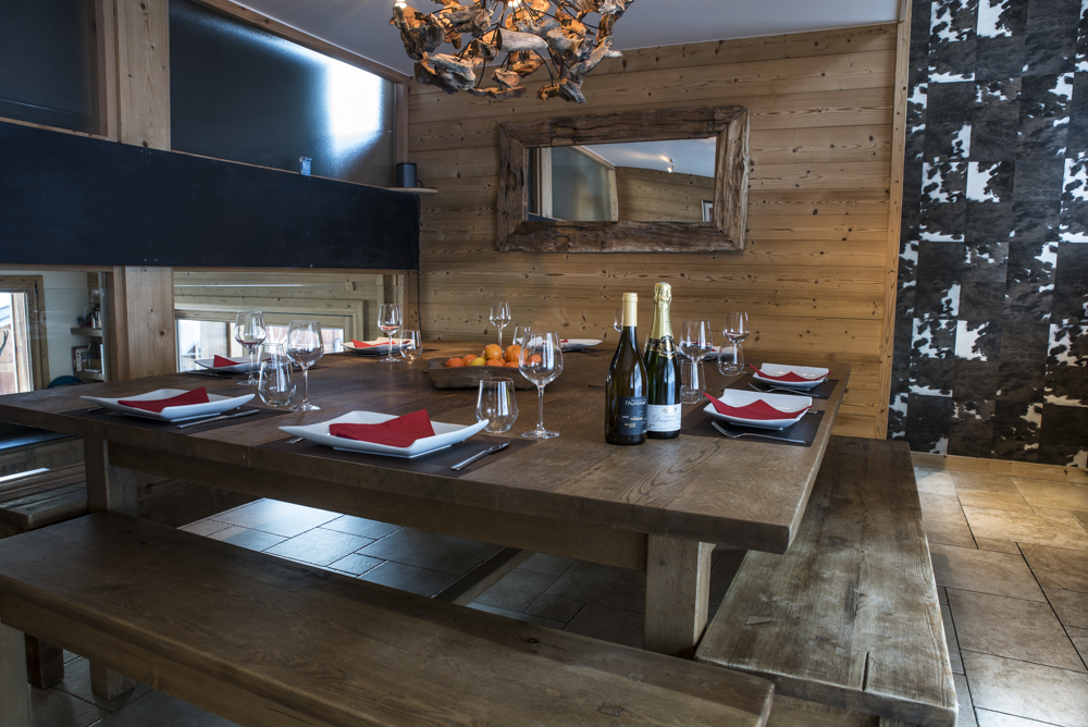 Ski Chalet dining room