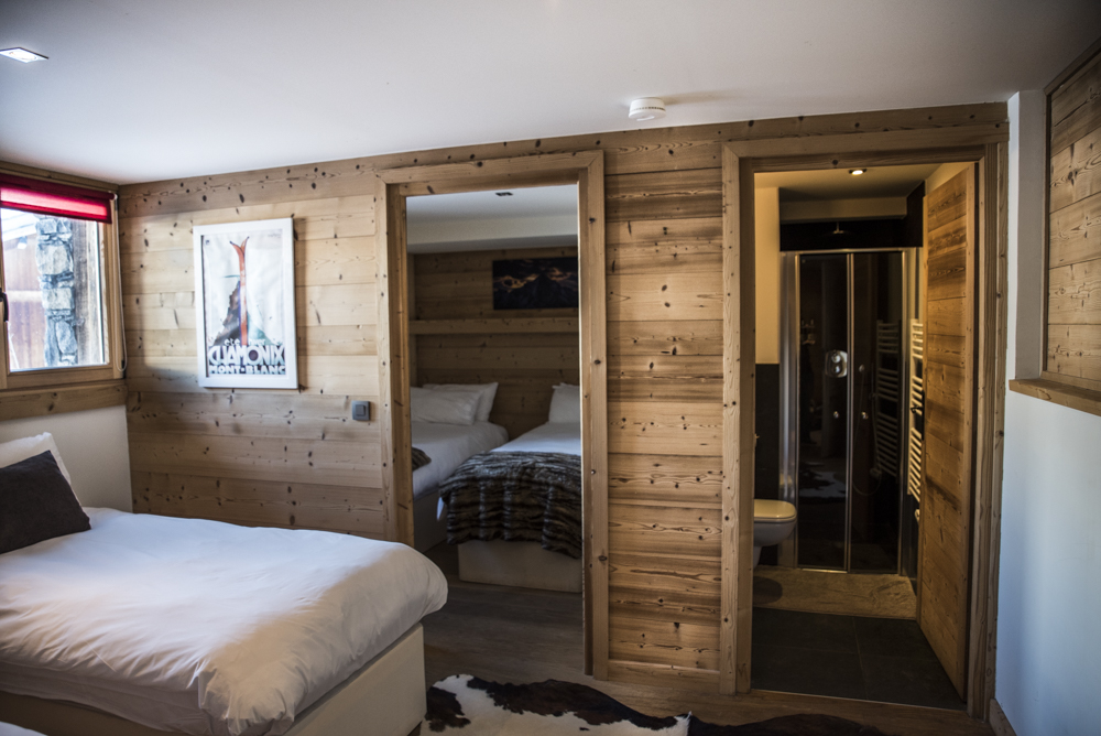 Ski chalet family room. Chamonix Mont Blanc