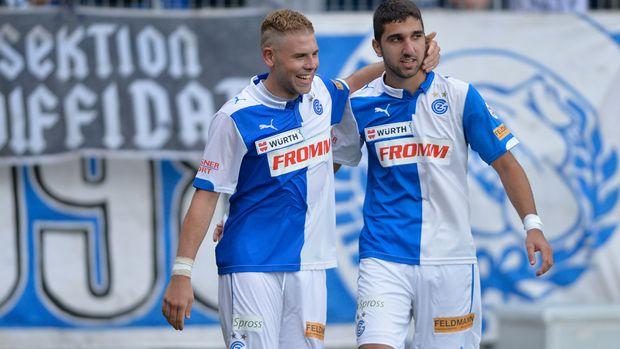 Yoric and Munas: a 46 goal partnership in 15/16
