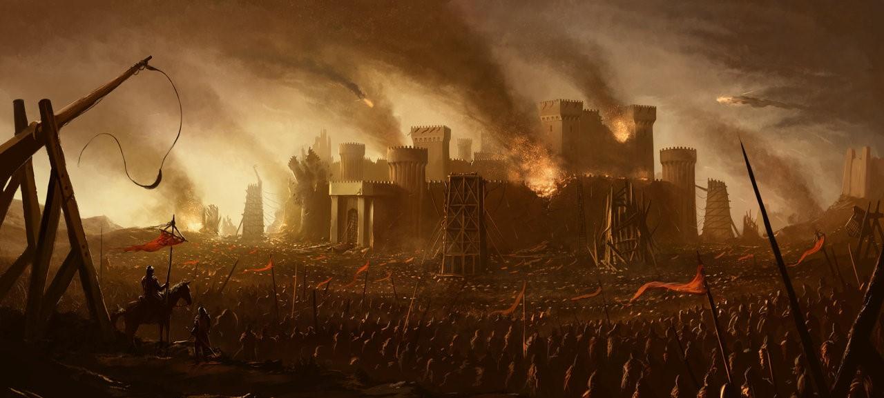 A Mendoza siege taking place...