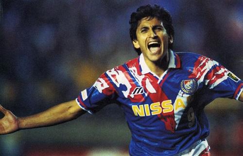 Ramón Díaz  - top scorer in the inaugural J League season of 1993 (28 goals).