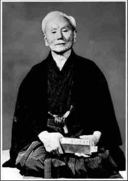 Sensei   Funakoshi  - my Karate great, great granddad
