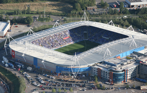 The Madejski Stadium has been Keysi's home for the last 10 years. But from 16 October 2026 Reading FC will be moving to the 58,628 capacity 'Robin Friday Arena'
