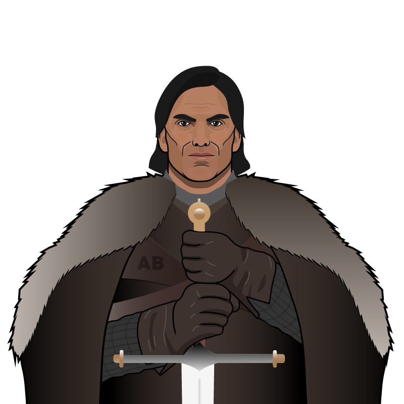 Ángel of House Bastardo, Prince of La Plata & Warden of the Alps.