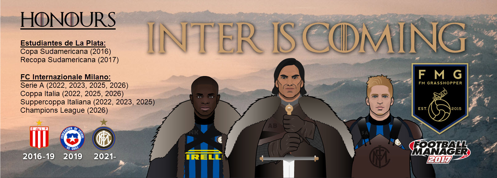 Inter is here.