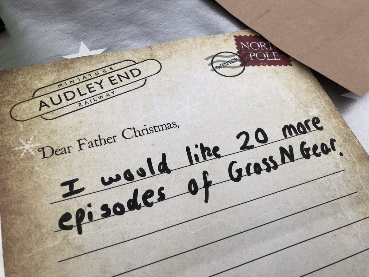 The 2018 GnG Family Day asked Father Christmas for 20 more episodes.