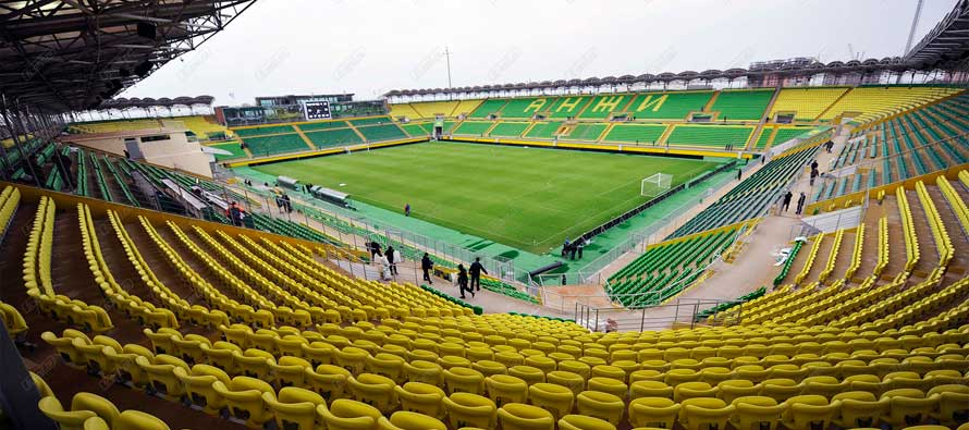 The Anzhi Arena: home of 'The Bastardo Glamour Friendly'.