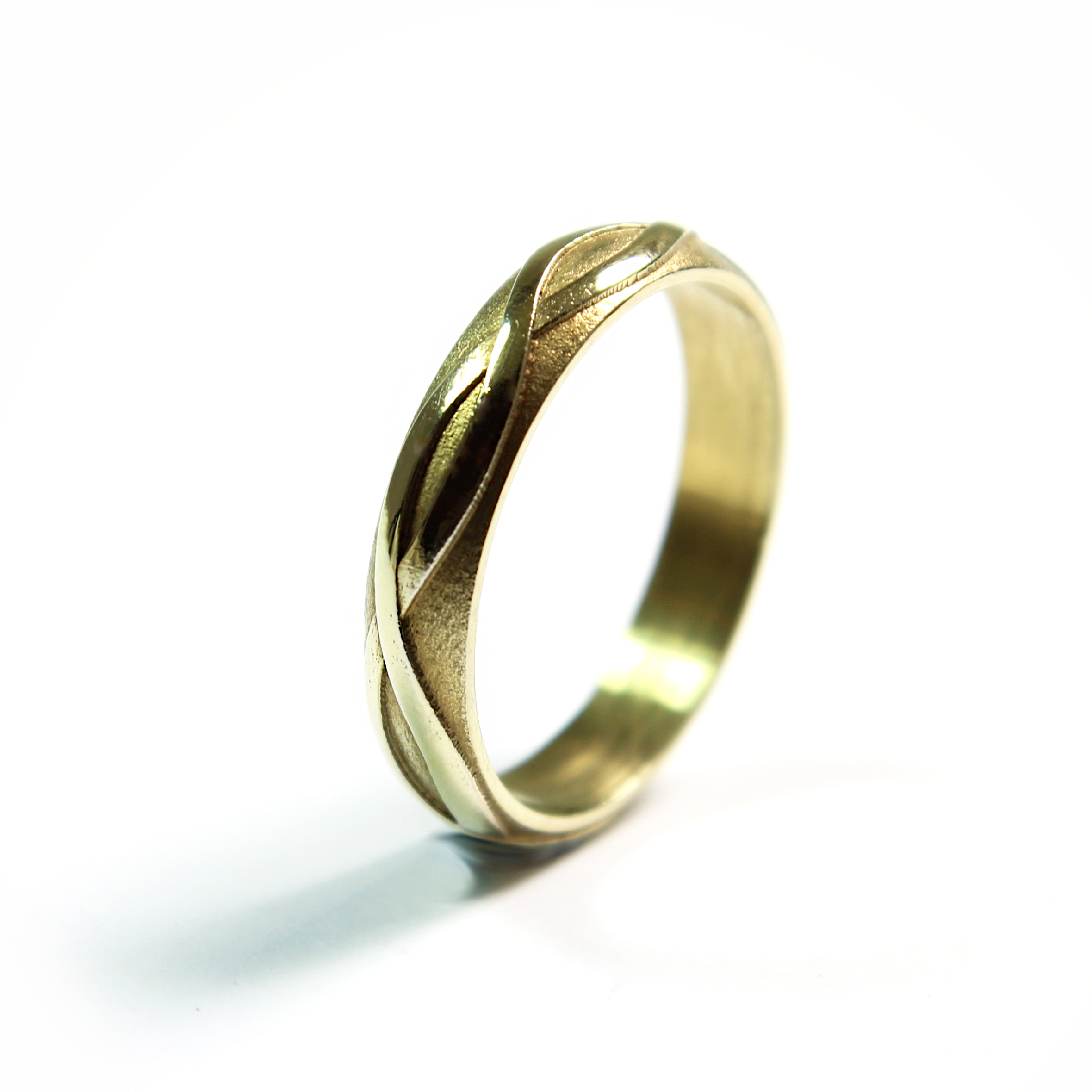 My Interlace wedding ring....