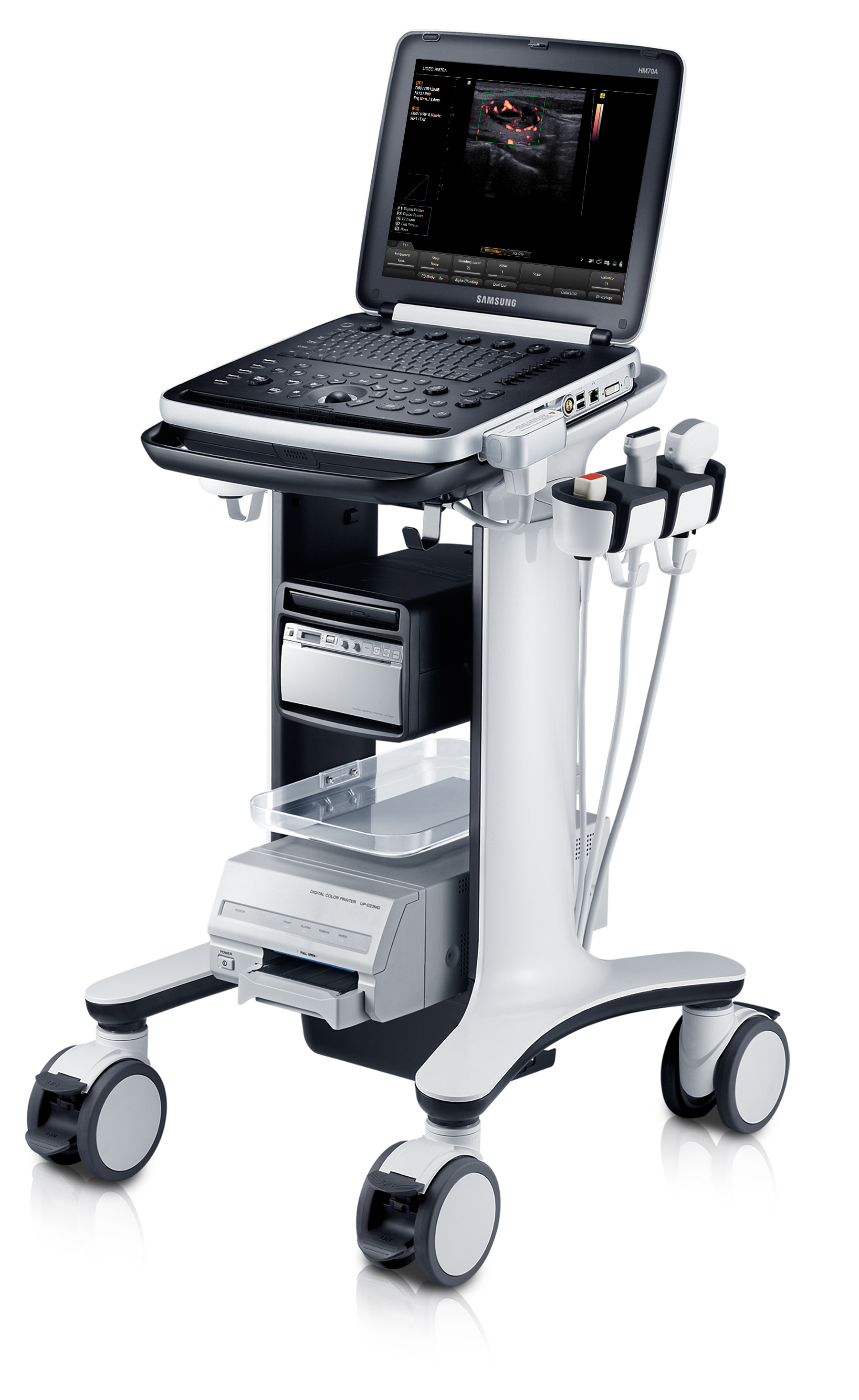 Samsung Portable Veterinary Ultrasound HM70