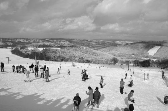 Les pistes de ski alpin du Val de Wanne
