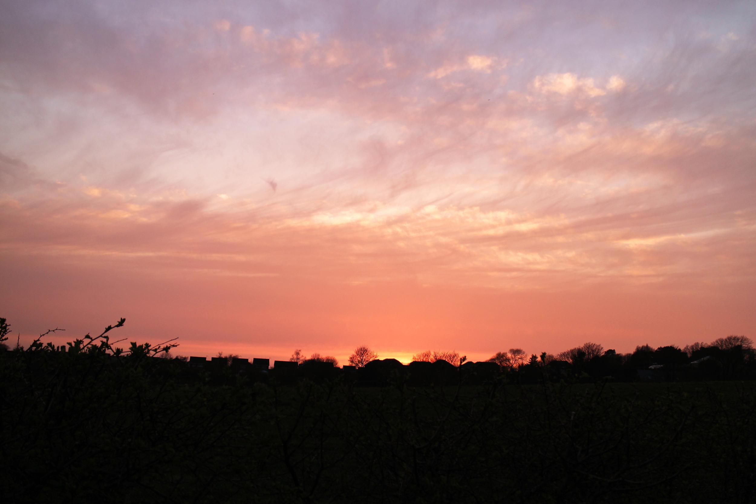 evening-sunset