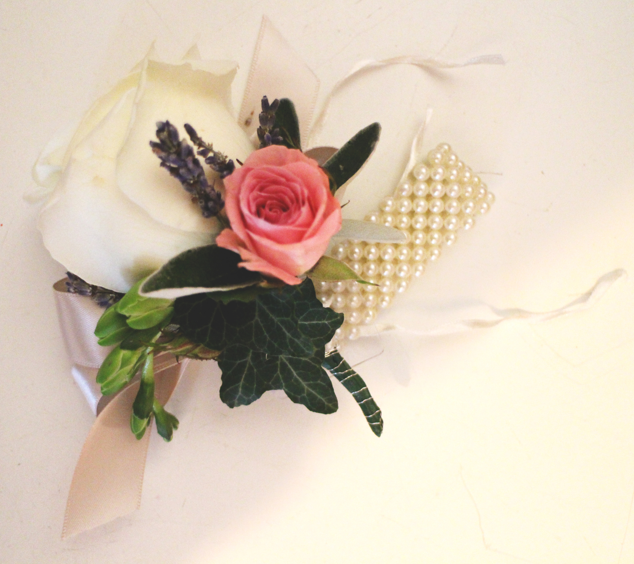 JANUARY: Creating practice wrist corsages