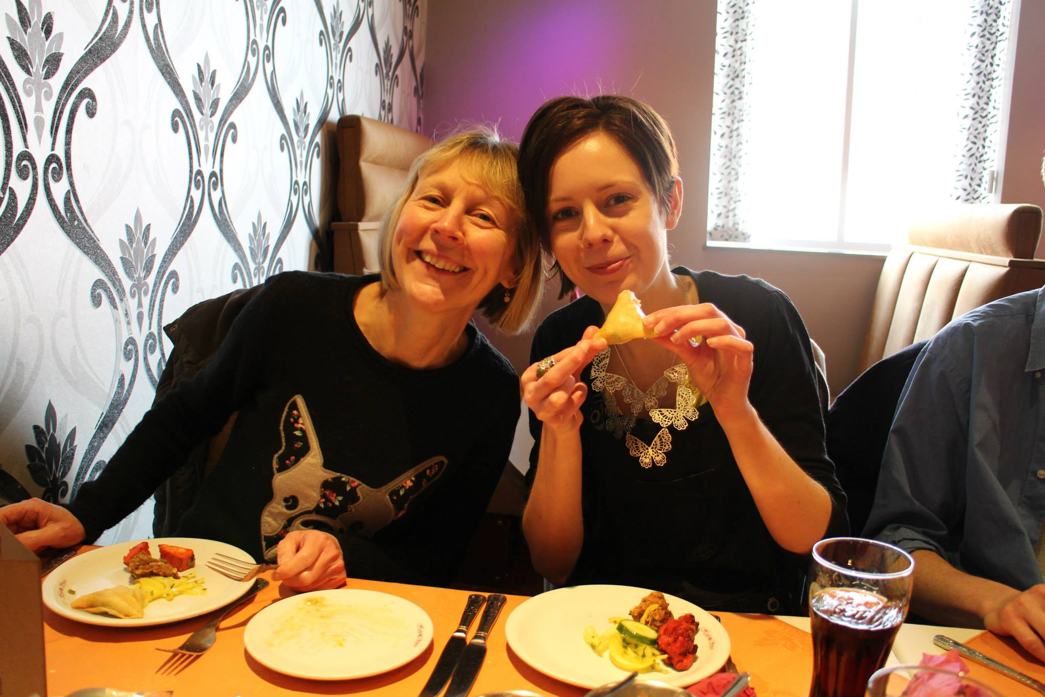 MARCH: Ruth's leaving meal
