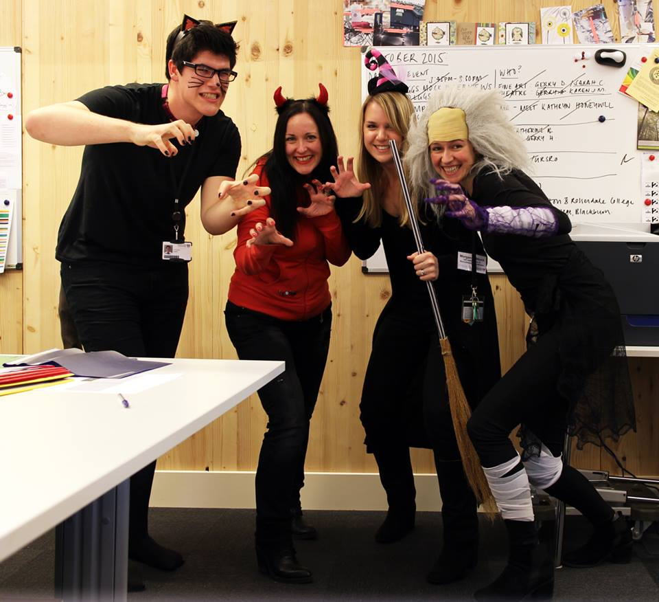 OCTOBER: Halloween in the LICA Admin Office