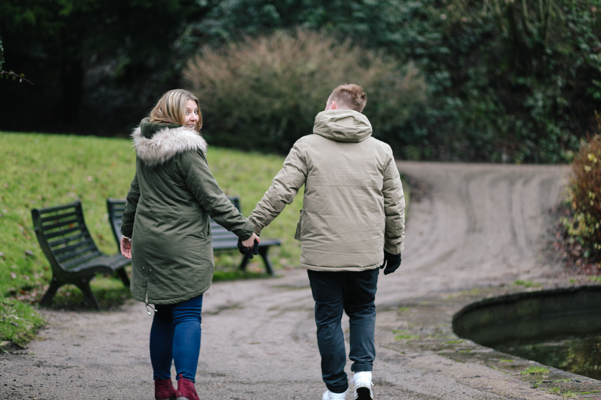 3/52 - These two came to visit and I took them to Williamson Park for a mini Engagement shoot (Canon 5D MkII)