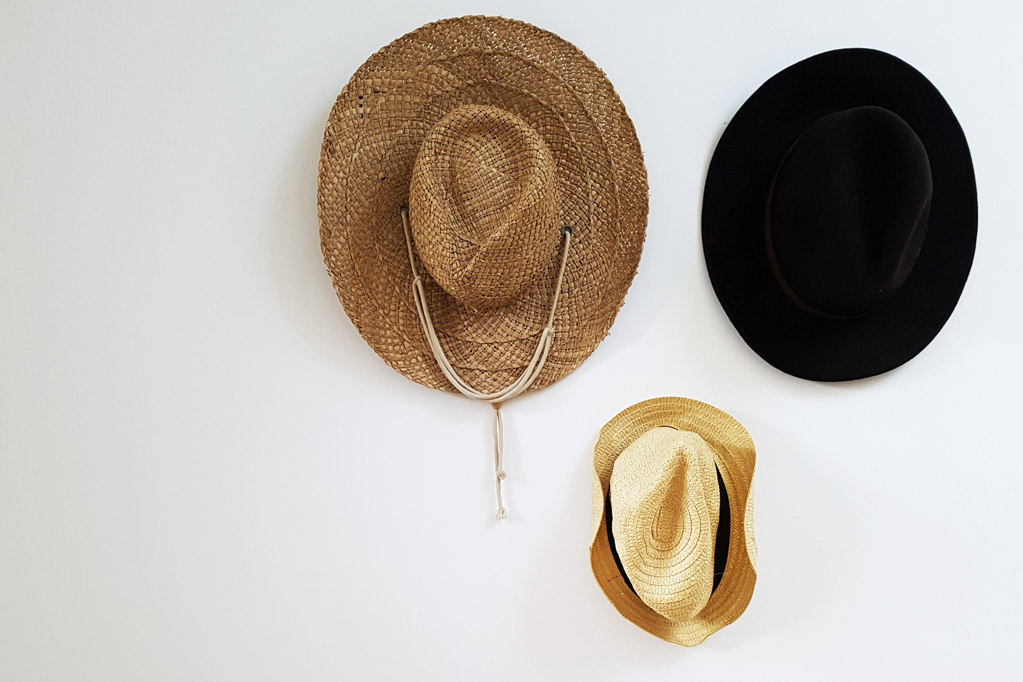 11/52 - my treasured hat wall at home (Samsung S7)